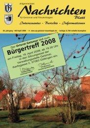 Heft April 2008 - Werbegemeinschaft Geismar-Treuenhagen
