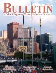 View Magazine - Allegheny County Medical Society