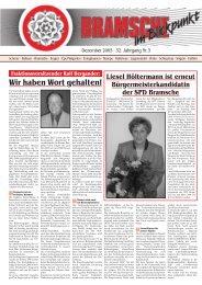 BiB Dezember 2005 - SPD-Ortsverein Bramsche