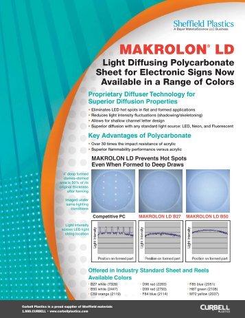 Makrolon® LD - Curbellplastics.com