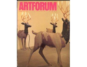 ArtForum on Dennis Oppenheim - Tobeycrockett.com