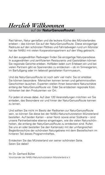 Herzlich Willkommen - NABU-Naturschutzstation Münsterland e.V.