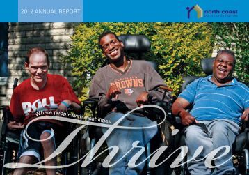 2012 ANNUAL REPORT - North Coast Community Homes