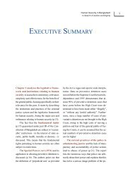 Executive Summary - United Nations in Bangladesh