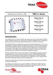 TMS 5 x Series - Triax
