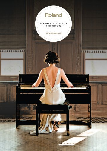 Roland Piano Catalogue 2012