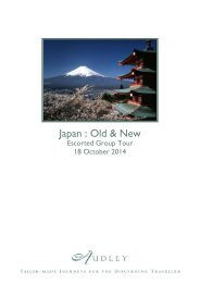 Japan : Old & New - Audley Travel