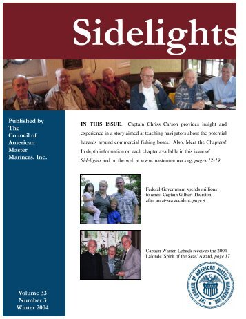 Sidelights Winter 2004.pub - Council of American Master Mariners