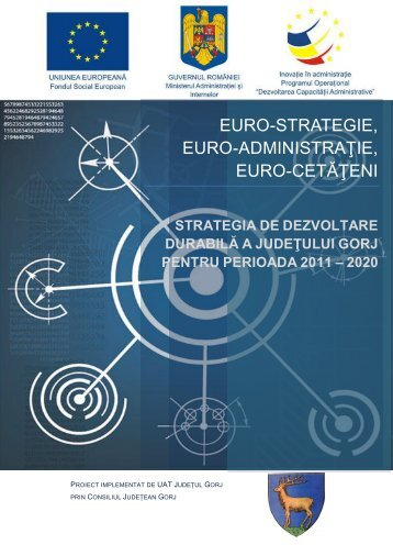 Strategia de dezvoltare durabilă a județului Gorj pentru perioada ...