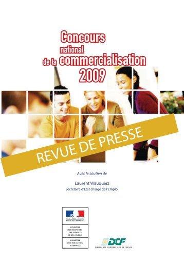 Concours de la commercialisation - DCF