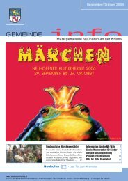 """GESUCHT """"over 18"""" - Gemeinde Neuhofen"""