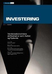 Verdensøkonomiens akilleshæl er sort, fedtet og ... - Danske Bank