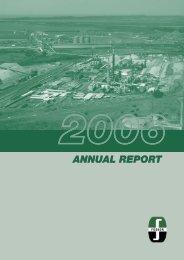 Download Annual Report 2006 - Foskor