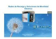 Redes de recarga y soluciones de movilidad eléctrica
