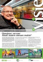 'Openbaar vervoer houdt oudere mensen mobiel' - ACV Leuven
