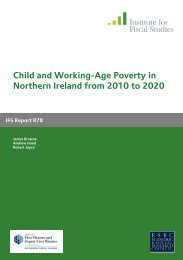 Child and Working-Age Poverty in Northern Ireland from 2010 to 2020