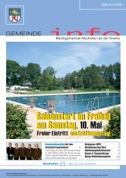 Neuhofener SEITEN-Blicke - Gemeinde Neuhofen