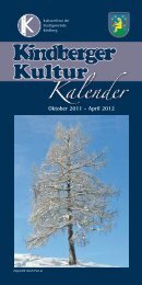Oktober 2011 - April 2012 - Kindberg