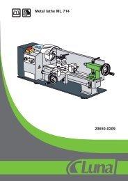 Metal lathe ML 714 20650-0209