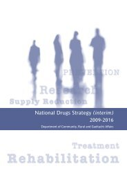 A National Drugs Strategy (interim) 2009-2016 - The National ...
