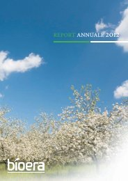 Annual report 2012 - Bioera S.p.A.