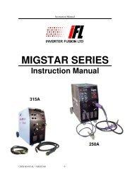 MIG STAR 315 - Inverter Fusion Ltd
