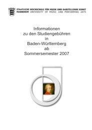 Informationen zu den Studiengebühren in Baden-Württemberg ab ...