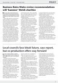 Regeneration consultation an opportunity for third sector to ... - WCVA - Page 5