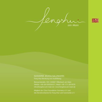 Feng Shui am Main Flyer zum Download