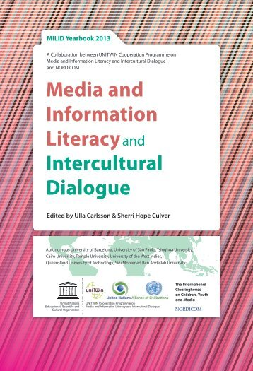 Media and Information Literacyand Intercultural Dialogue - Nordicom