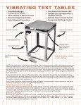 VIBRATING TABLE CATALOG - Vibco - Page 6