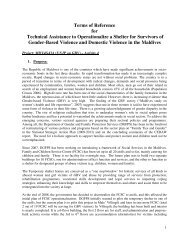 Terms of Reference for Technical Assistance to Operationalize a ...