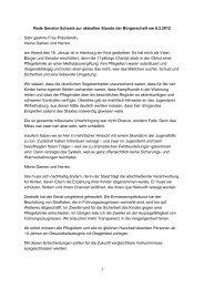 Rede Senator Scheele zur aktuellen Stunde der ... - Hamburg