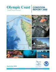 Olympic Coast CONDITION - National Marine Sanctuaries - NOAA