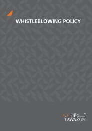 WHISTLEBLOWING POLICY - EthicsPoint