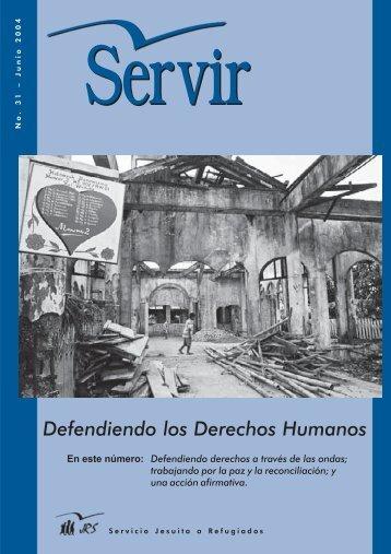 Defendiendo los Derechos Humanos - Jesuit Refugee Service