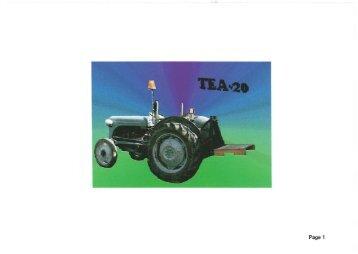 Ferguson TEA-20 - Amicale des vieilles soupapes