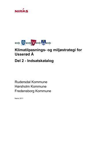 Indsatskatalog - Hørsholm Kommune