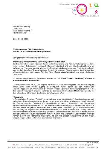 Gemeindeverwaltung Didier Lohri Place de la ... - designo.ch
