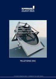 PELLETIZING DISC - Vermeulen Ingenieursbureau