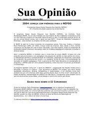 Sua Opinião - Instituto Paulo Montenegro
