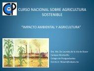 María de la Isla de Bauer_IMPACTO AMBIENTAL Y AGRICULTURA