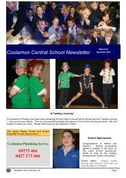 11 Term 3, Week 8 Week 37 [pdf, 1 MB] - Coolamon Central School