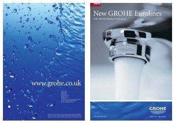 www.grohe.co.uk New GROHE Eurolines