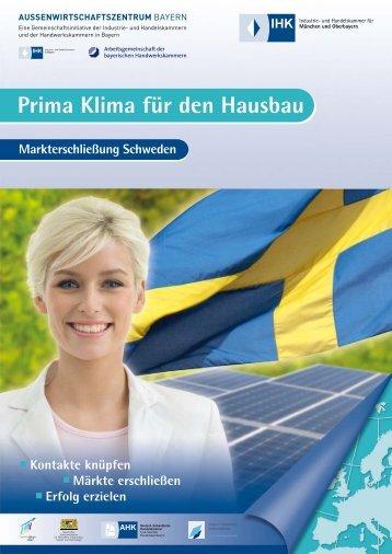 Prima Klima für den Hausbau - Außenwirtschaftszentrum Bayern