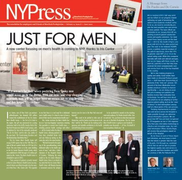 June 2010 NYPress - New York Presbyterian Hospital