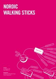 Nordic WalkiNg StickS - Lev Vel