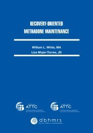 RecoveRY-oRIeNTeD MeTHADoNe MAINTeNANce - William L. White