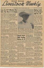 June 9, 1949 - Livestock Weekly!