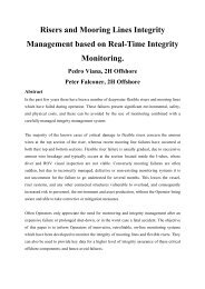 Risers and Mooring Lines Integrity Management ... - 2H Offshore